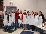 BTC Volunteers at the Salvation Army