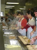 Thanksgiving at the Salvation Army